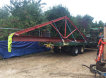Delivery of Steel trusses